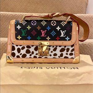 Authentic Louis Vuitton sac Dalmatian multicolor